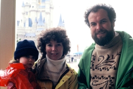 Jessica, Anne and Eric Hieser at Tokyo Disneyland 1983