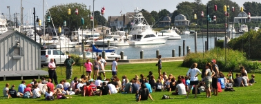 West 2013 Freshmen Orientation at Hyannis Harbor