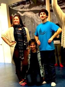 Elizabeth Happel, David Girardin and Brett Zimble