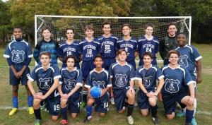 JV Soccer East