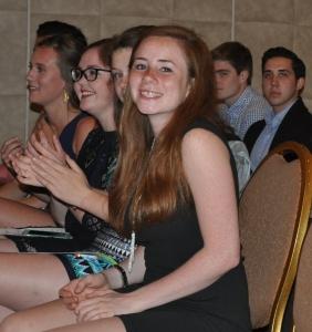 Lauren Benedict and Students