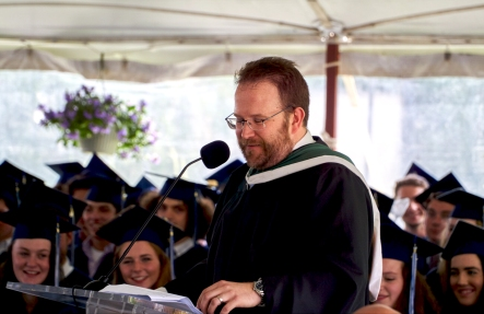 Paul Marble addresses Class of 2016