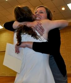 Jenn Kirk presents William Sturgis Award to Althea Turley
