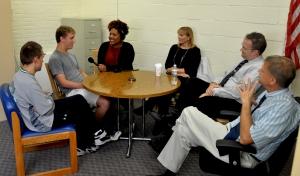 WBUR Reporter Tonya Mosley interviews the Peters family and Paul Marble