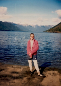 Lake Wanaka on the South Island of New Zealand (1990)