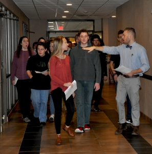 Student Tours of Resort and Conference Center December 13, 2016