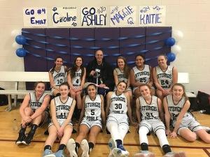 East Girls Basketball Team